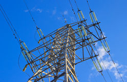 Линия передачи энергии Стоковая Фотография