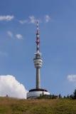 Линия передачи tower Стоковое Изображение