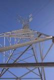 Линия передачи tower Стоковые Фото