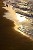 Линия пляжа Стоковое фото RF