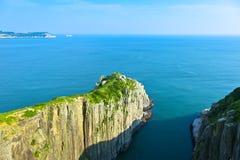 Линия побережья DongYin, Matsu Стоковое фото RF