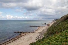 Линия побережья Tisvilde Стоковые Изображения