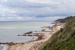 Линия побережья Tisvilde Стоковое Изображение RF