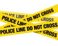 линия полиция Стоковые Изображения