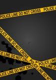 линия полиция Стоковые Фотографии RF