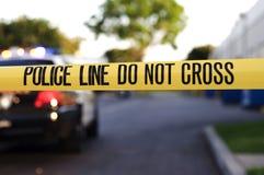 линия полиция Стоковое Изображение RF