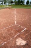 линия поля левая Стоковые Изображения