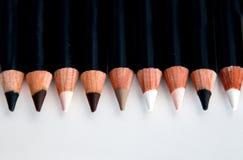 Линия популярных карандашей состава глаза Стоковые Изображения