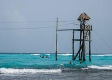 Линия потеха застежка-молнии в Мексике Стоковая Фотография RF