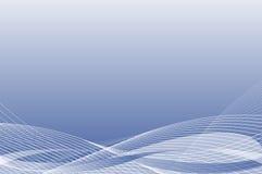 линия предпосылки голубая Стоковые Изображения RF