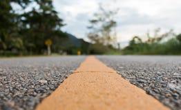 Линия предпосылка нерезкости дороги Стоковое фото RF