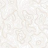 Линия предпосылка топографической карты геодезии ландшафта вектор Стоковые Фотографии RF