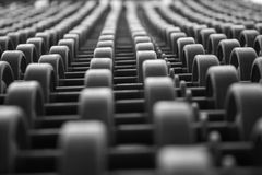 Линия привода транспортер цепи и вала Стоковая Фотография RF