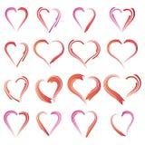 Линия сердца Стоковое Фото