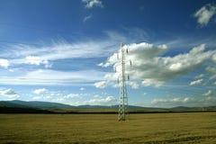 линия сила облаков Стоковое фото RF