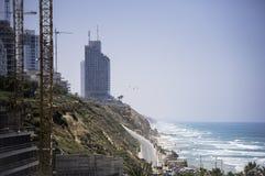Линия скалы и пляжа Стоковая Фотография RF