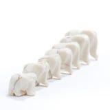 линия слонов стоковое фото rf