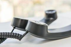 Линия спираль телефонной трубки телефона стоковое изображение rf