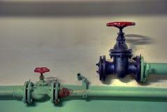 линия старая труба Стоковое фото RF