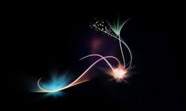 Линия с светлой предпосылкой Стоковое Изображение