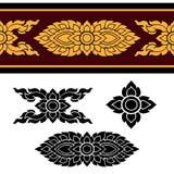 Линия тайский дизайн 024 стоковое изображение