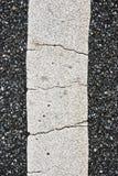 линия текстура дороги урбанская Стоковые Изображения