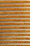Линия текстура цвета мустарда вертикальная ткани Стоковые Изображения