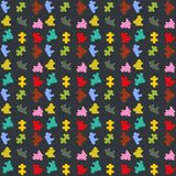 Линия темный вектор puzzel картины цвета backgrounn бесплатная иллюстрация
