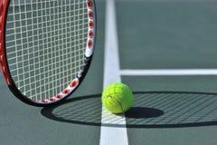 линия теннис шарика Стоковое фото RF