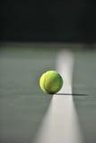 линия теннис шарика Стоковые Фотографии RF
