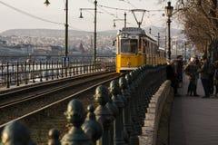 Линия трамвая Стоковое Фото