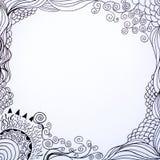 Линия фантазия Doodle искусства Стоковая Фотография RF
