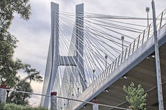 Линия штендер моста Стоковая Фотография