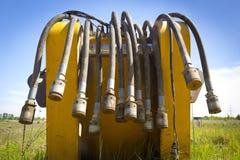 Линия шланга гидросистемы Стоковая Фотография RF