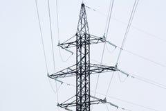 Линия электропередач старая Стоковые Изображения RF