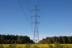 Линия электропередач Стоковые Изображения RF