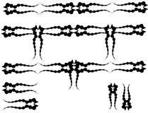 линия элементов конструкции искусства Стоковые Фото