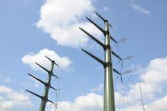 Линия электропередач передачи Стоковые Фотографии RF