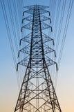 Линия электропередач электричества Стоковые Изображения RF