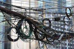 Линия электропередач Стоковые Изображения