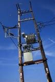 Линия электропередач Стоковая Фотография