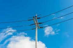 Линия электропередач Stree Стоковое Фото