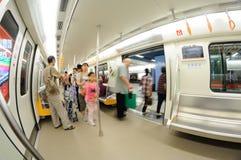 Линия 2 метро Chengdu Стоковое Изображение RF