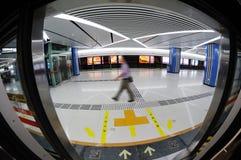 Линия 2 метро Chengdu Стоковое фото RF