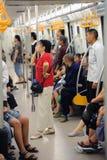 Линия 2 метро Chengdu Стоковая Фотография