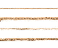 Линия linen строки веревочки Стоковое Изображение