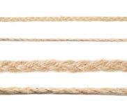 Линия linen строки веревочки Стоковая Фотография RF