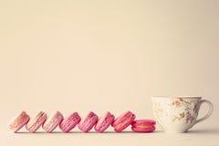 Линия macaroons Стоковая Фотография RF