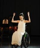 Линия musicalï Пушист-танца šRed ¼ Стоковое Изображение