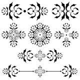 линия ornamental рассекателя штанги иллюстрация вектора